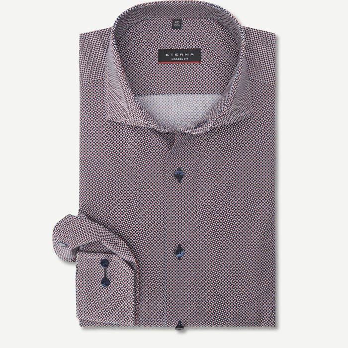 Skjortor - Modern fit - Röd