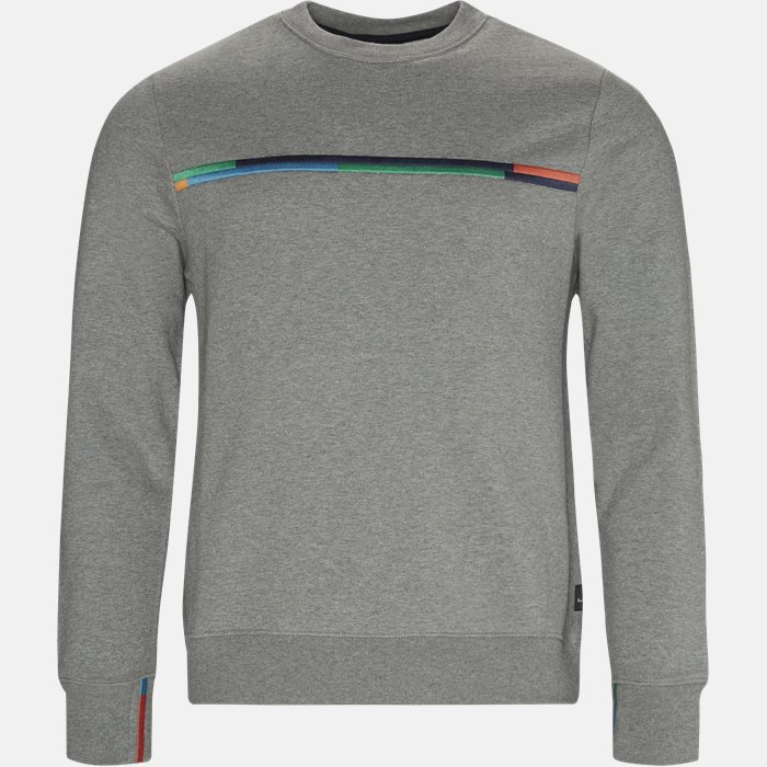 Sweatshirt - Sweatshirts - Regular fit - Grå