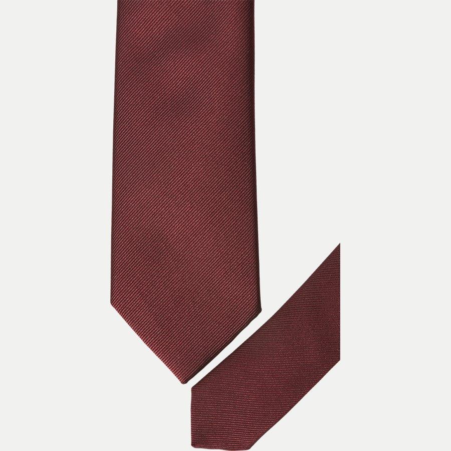 MF8457 - Krawatten - BORDEAUX - 2