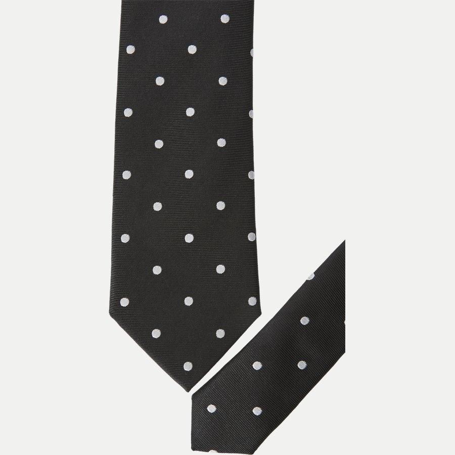 MF10514 - Krawatten - BLACK - 2