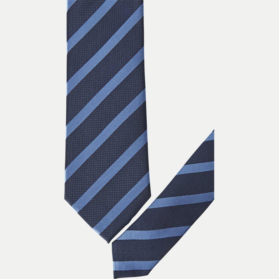 P1119 - Krawatten - NAVY/BLÅ - 2