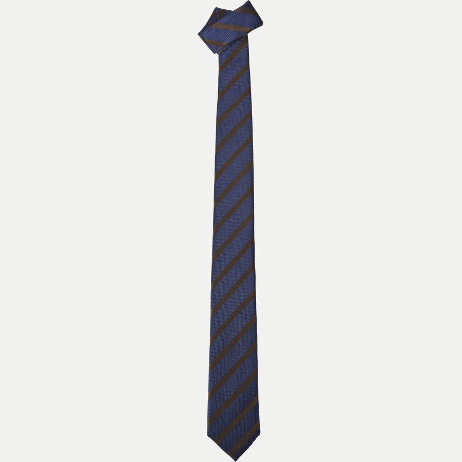 P1119 - Krawatten - NAVY/BORDEAUX - 1