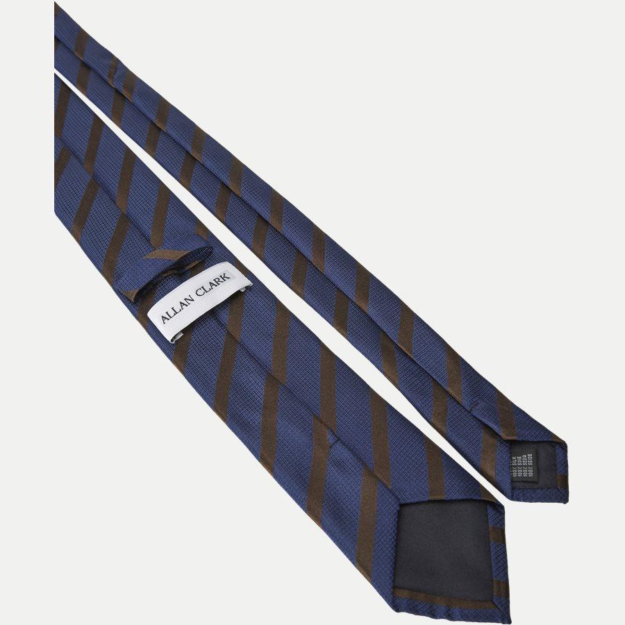 P1119 - Krawatten - NAVY/BORDEAUX - 3