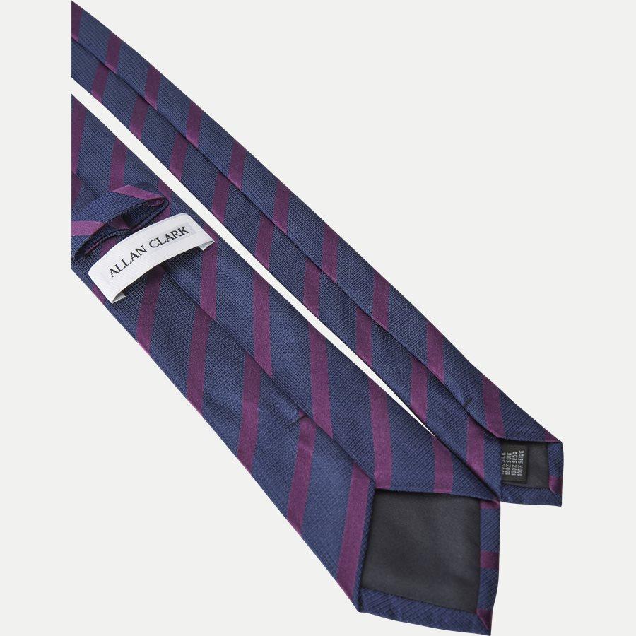P1119 - Krawatten - NAVY/BRUN - 3
