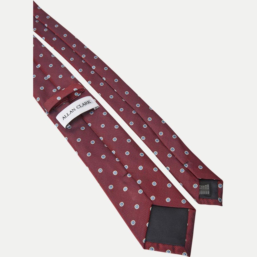 S1095 - Krawatten - BORDEAUX - 3