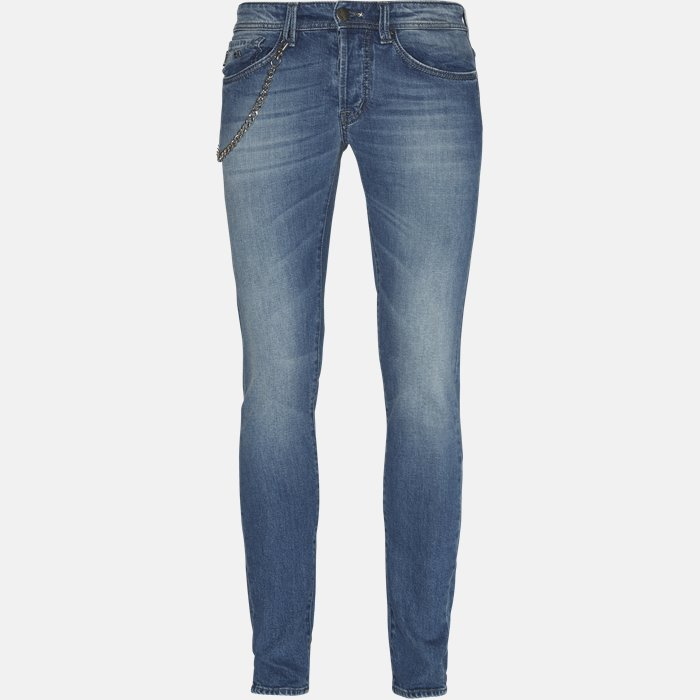 Jeans - Jeans - Regular slim fit - Blå