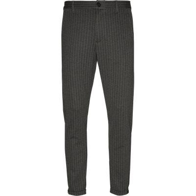 Pisa Bukser Tapered fit | Pisa Bukser | Grå