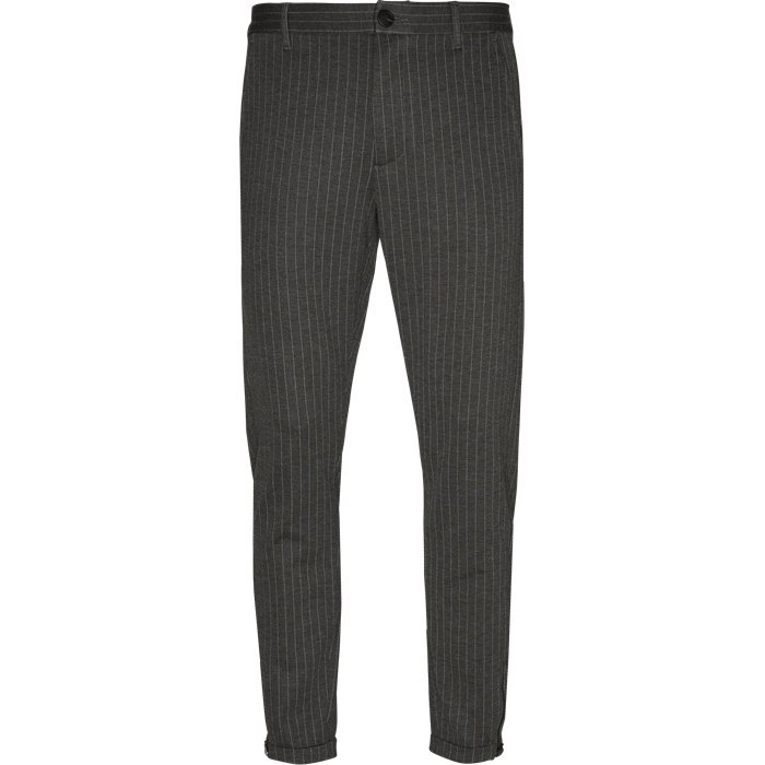 Pisa Bukser - Bukser - Tapered fit - Grå
