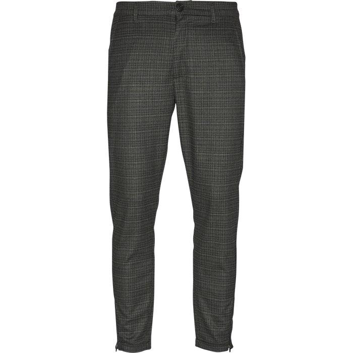Pisa Grey Check - Bukser - Regular - Grå