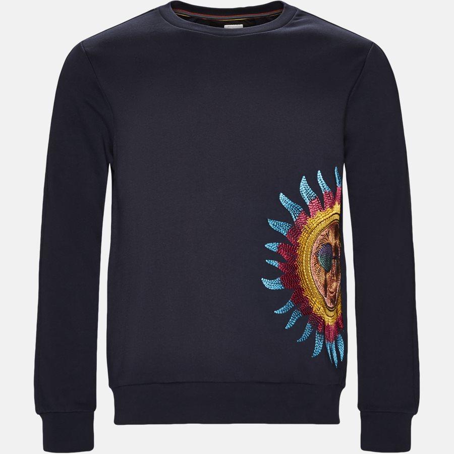 677R P1056 - Sweatshirt - Sweatshirts - Regular fit - NAVY - 1