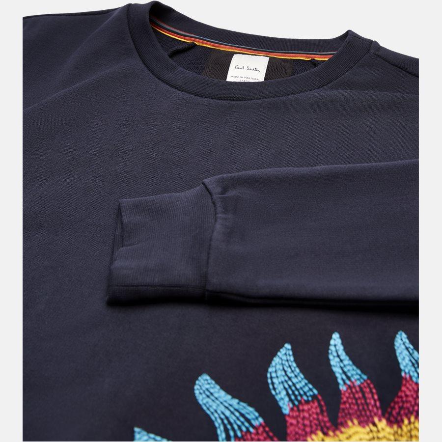 677R P1056 - Sweatshirt - Sweatshirts - Regular fit - NAVY - 3
