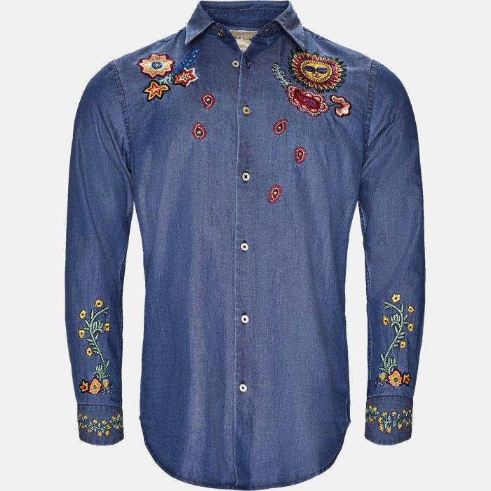 skjorte - Skjorter - Regular slim fit - Denim