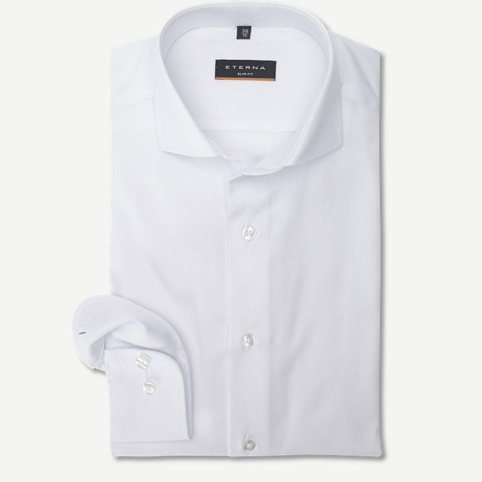 8817 Skjorte - Skjorter - Slim - Hvid