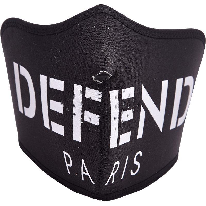 Billede af Defend Paris Defend Facemask Sort