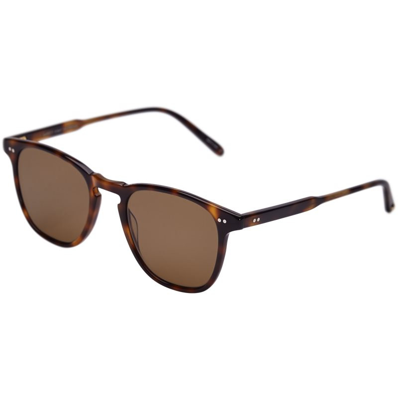 garrett leight – Garrett leight brooks 47 2002-47-csbrn/sfpcof accessories brown på axel.dk