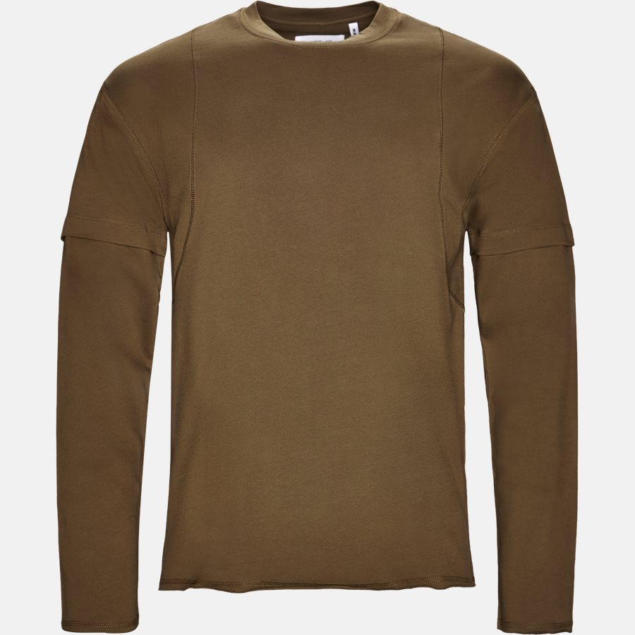 I02HM505 - T-shirt - T-shirts - Oversized - ARMY - 1