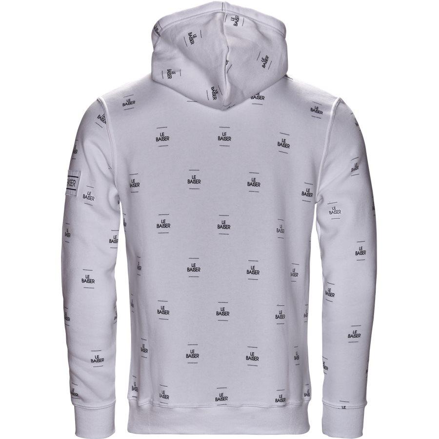 MONACO - Monaco Sweatshirt - Sweatshirts - Regular - WHITE/BLACK - 2