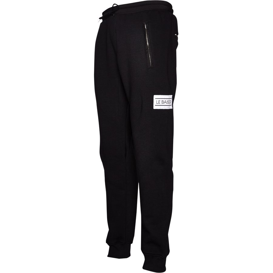 COTES - Cotes Sweatpants - Bukser - Regular - BLACK - 4