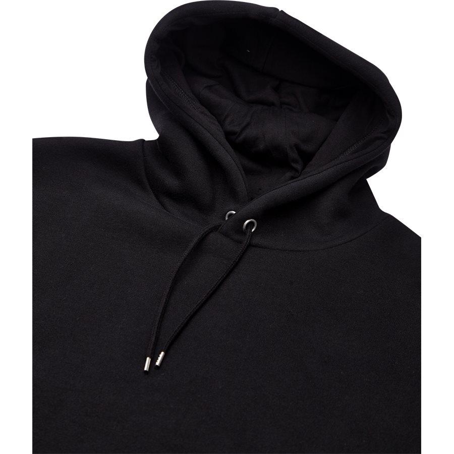 EDISON - Edison - Sweatshirts - Regular - BLACK - 3