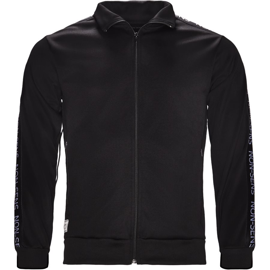 JACKSON - Jackson Track Top - Sweatshirts - Regular - BLACK - 1