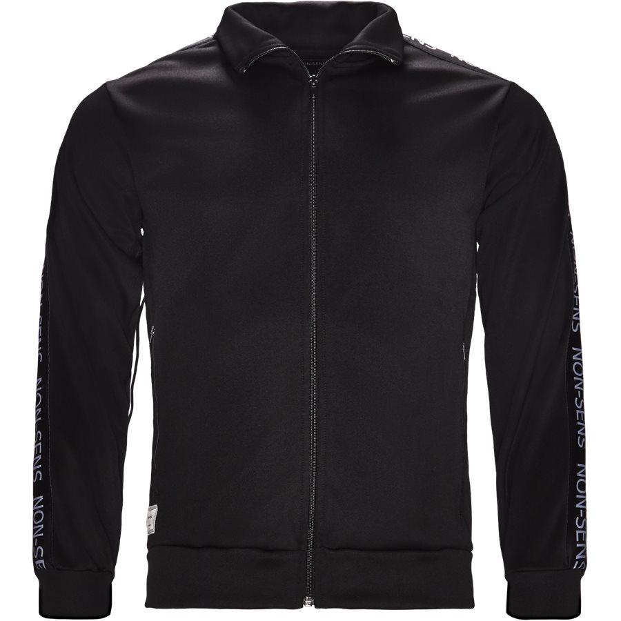 JACKSON - Jackson Track Top - Sweatshirts - Regular - BLACK - 1
