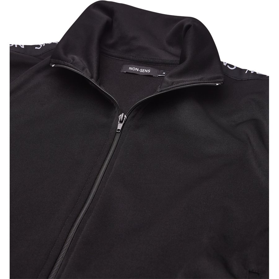 JACKSON - Jackson Track Top - Sweatshirts - Regular - BLACK - 3