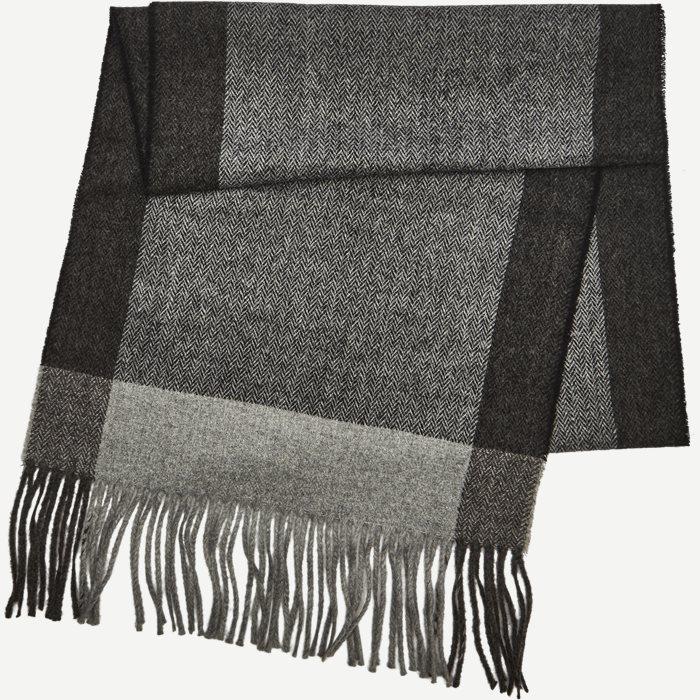 Brecia Halstørklæde - Tørklæder - Grå