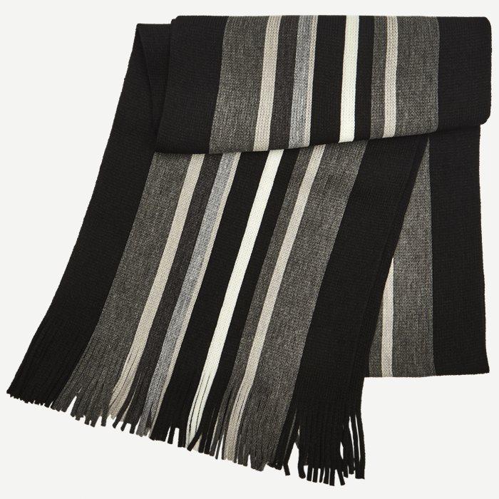 Paris Halstørklæde - Tørklæder - Sort