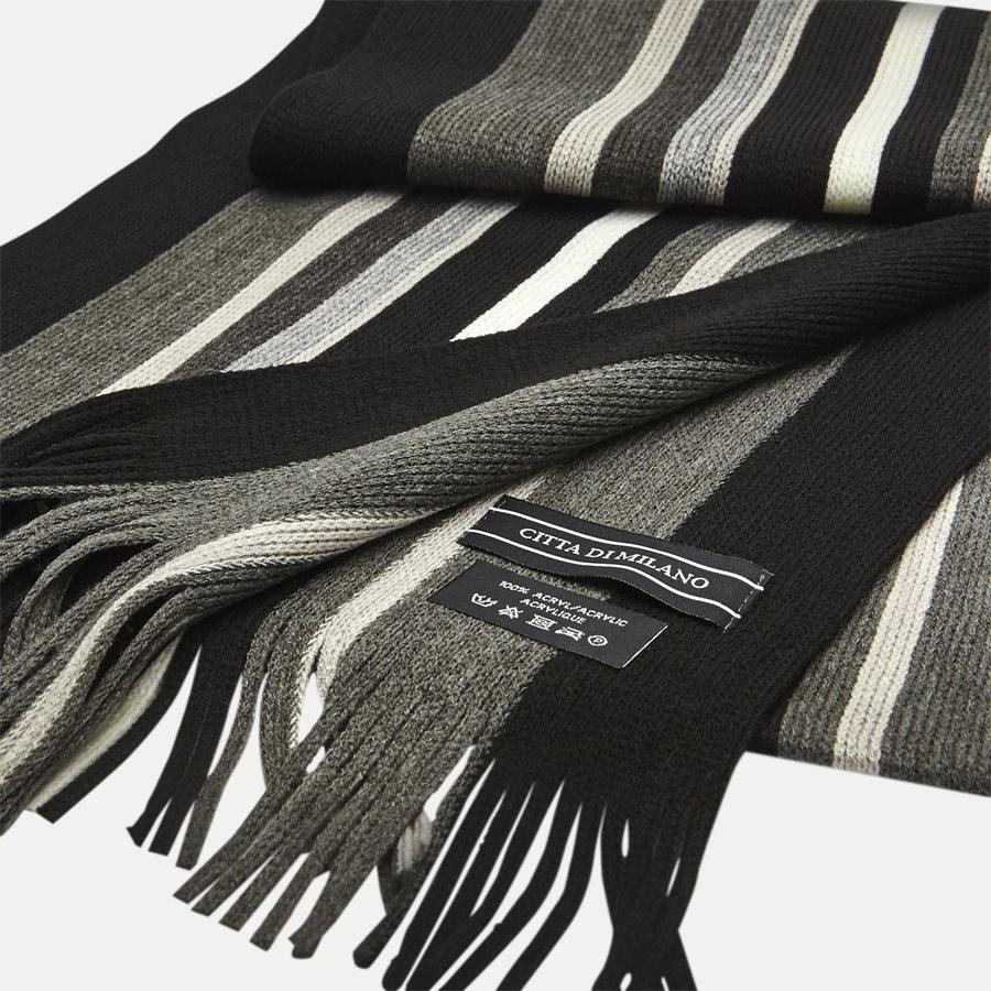 PARIS - Paris Halstørklæde - Tørklæder - BLACK - 2