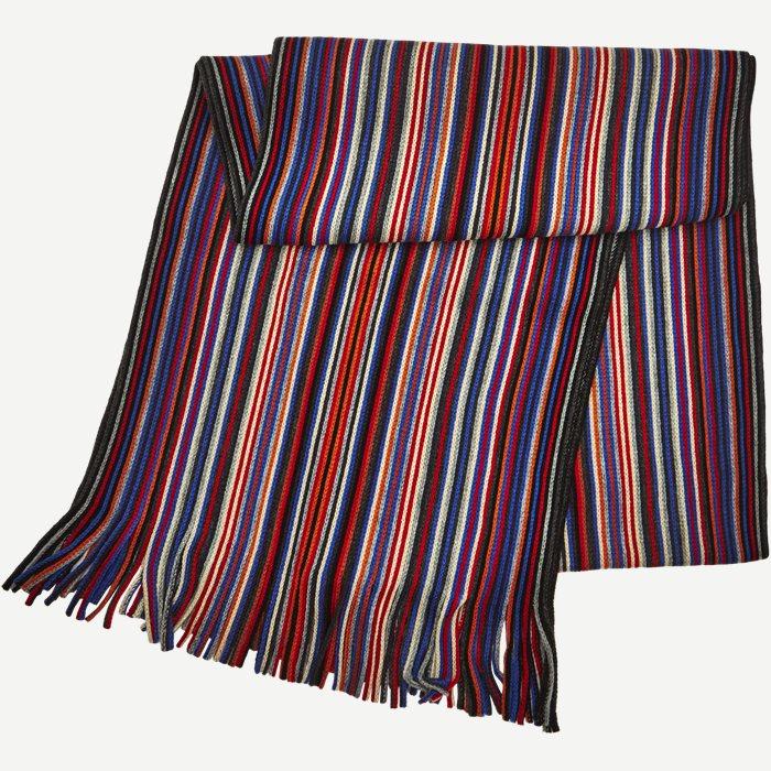 Lyon Halstørklæde - Tørklæder - Rød