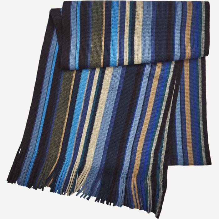 Nice Halstørklæde - Tørklæder - Blå
