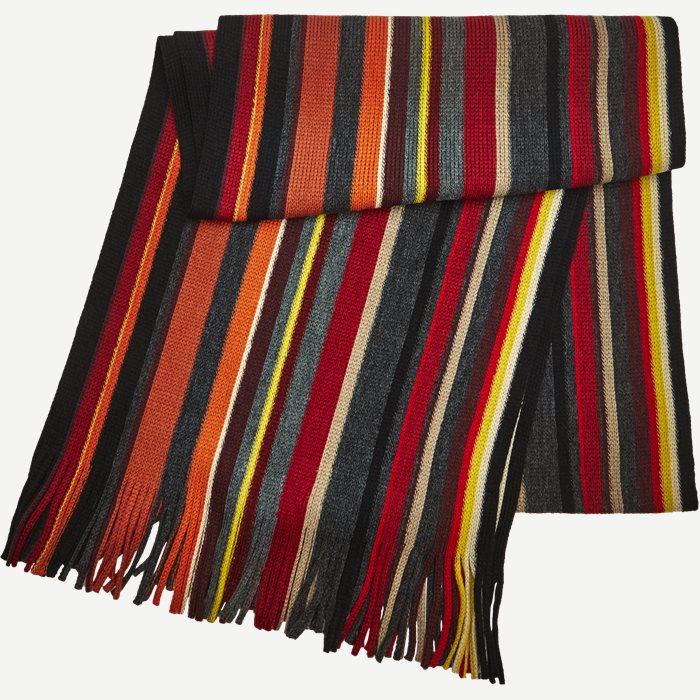 Nice Halstørklæde - Tørklæder - Rød