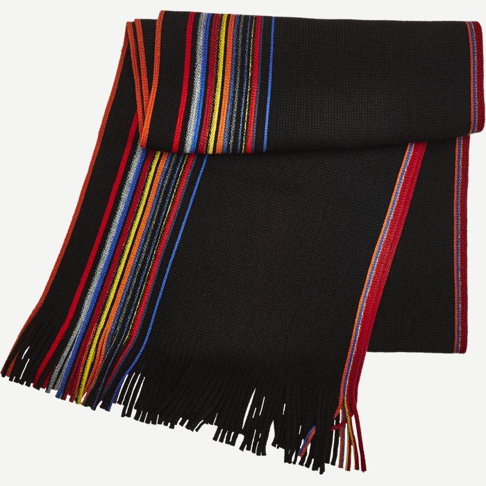 Nantes Halstørklæde - Tørklæder - Sort