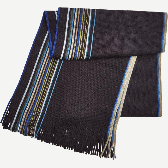 Nantes Halstørklæde - Tørklæder - Blå