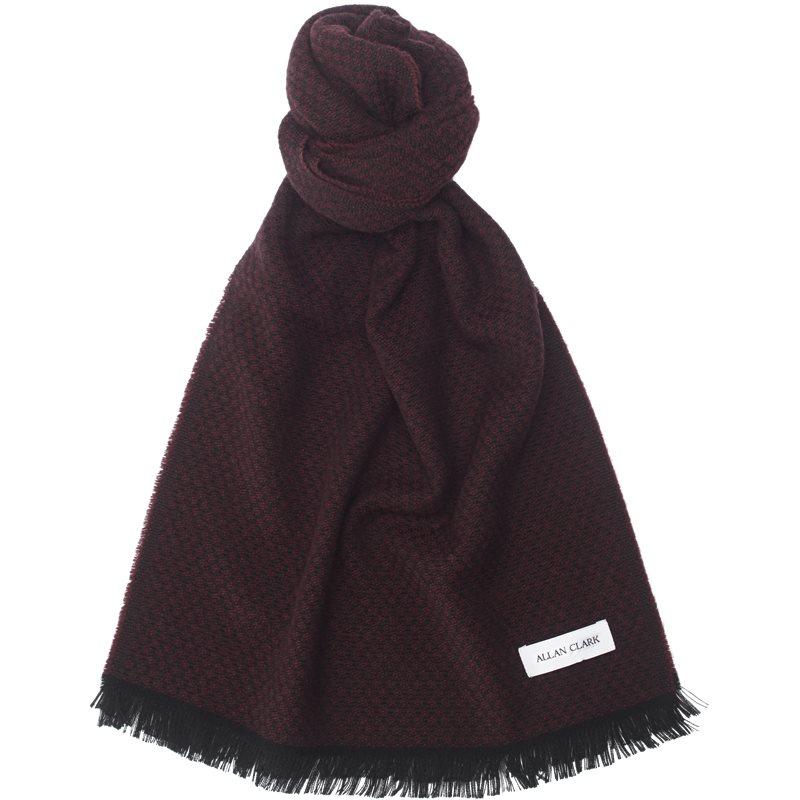 allan clark Allan clark - dis wool blend scarf fra kaufmann.dk