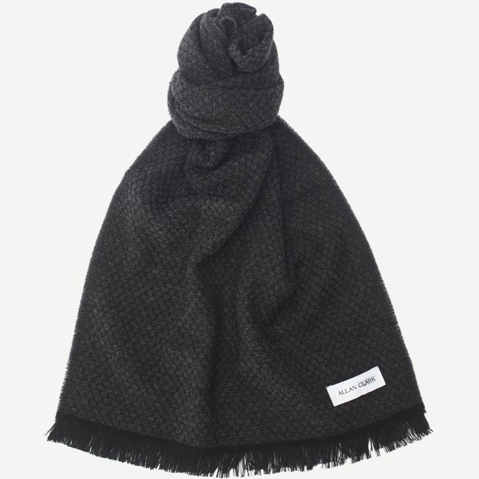 Dis Wool Blend Scarf - Tørklæder - Grå