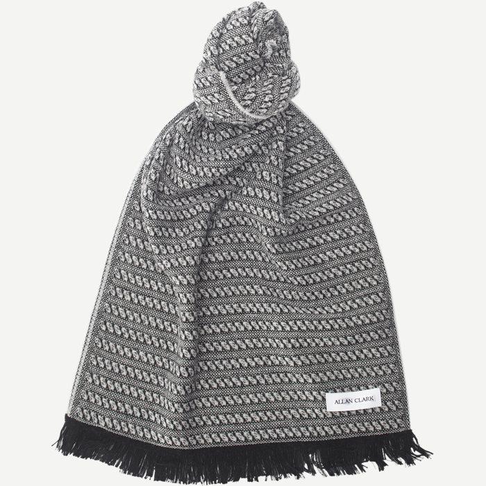 Wool Blend Scarf - Tørklæder - Sand