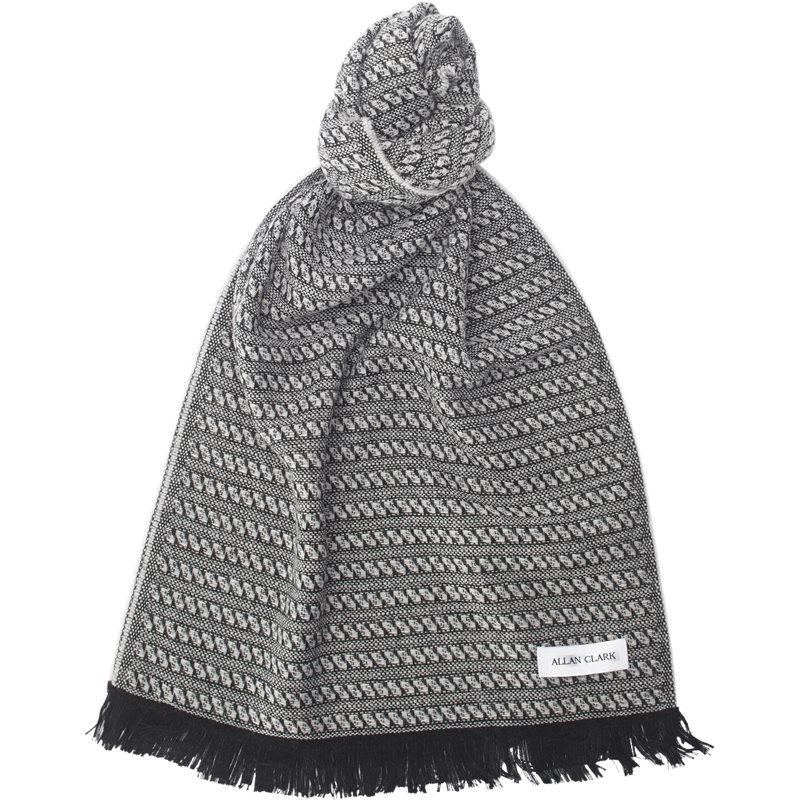 allan clark – Allan clark - wool blend scarf på kaufmann.dk