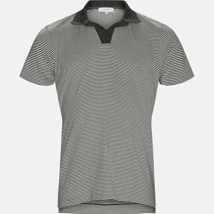 FELIX NARROW STRIPE - T-shirts - CHARCOAL - 1