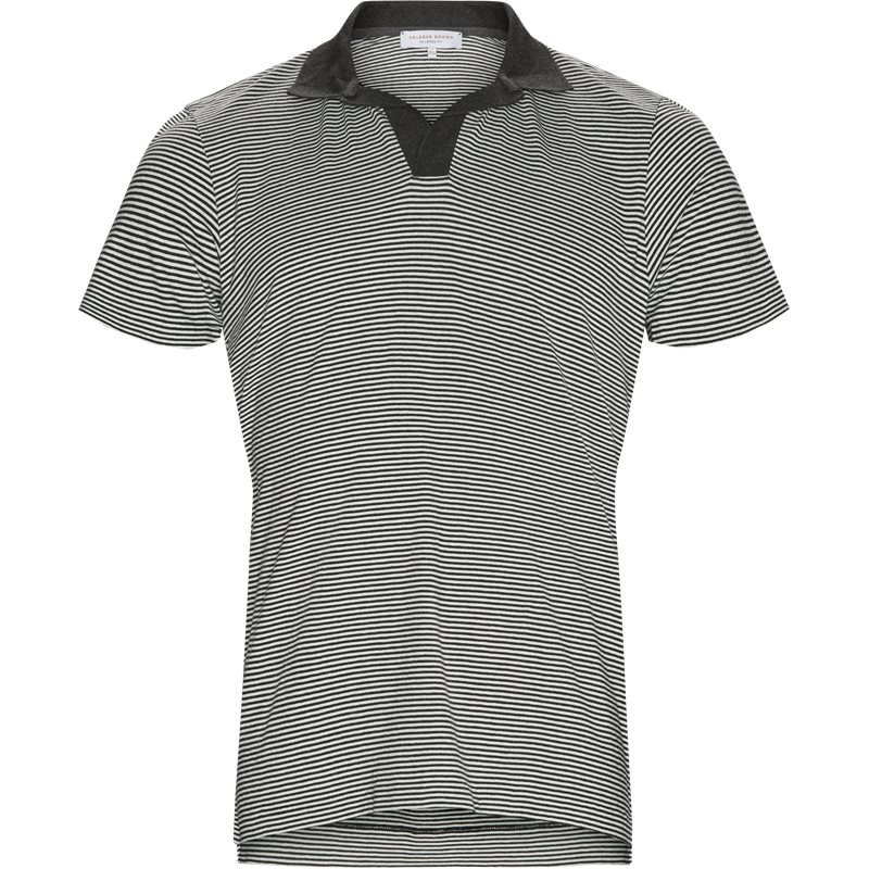 Billede af ORLEBAR BROWN FELIX NARROW STRIPE T-shirts Charcoal