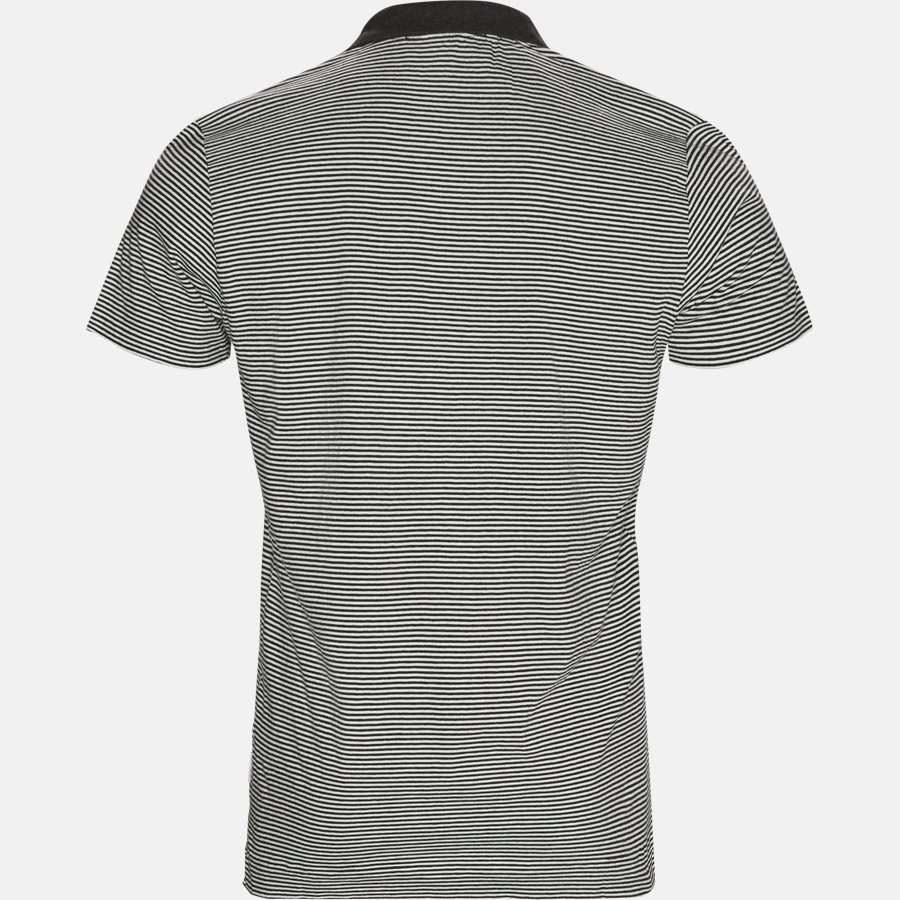 FELIX NARROW STRIPE - T-shirts - CHARCOAL - 2