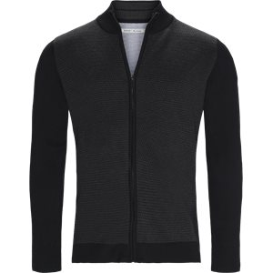 Ventoux Cardigan Strik Regular | Ventoux Cardigan Strik | Sort