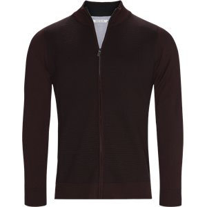 Ventoux Cardigan Strik Regular | Ventoux Cardigan Strik | Bordeaux