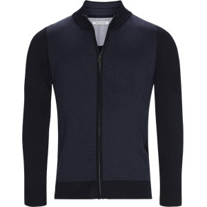 Ventoux Cardigan Strik Regular | Ventoux Cardigan Strik | Blå