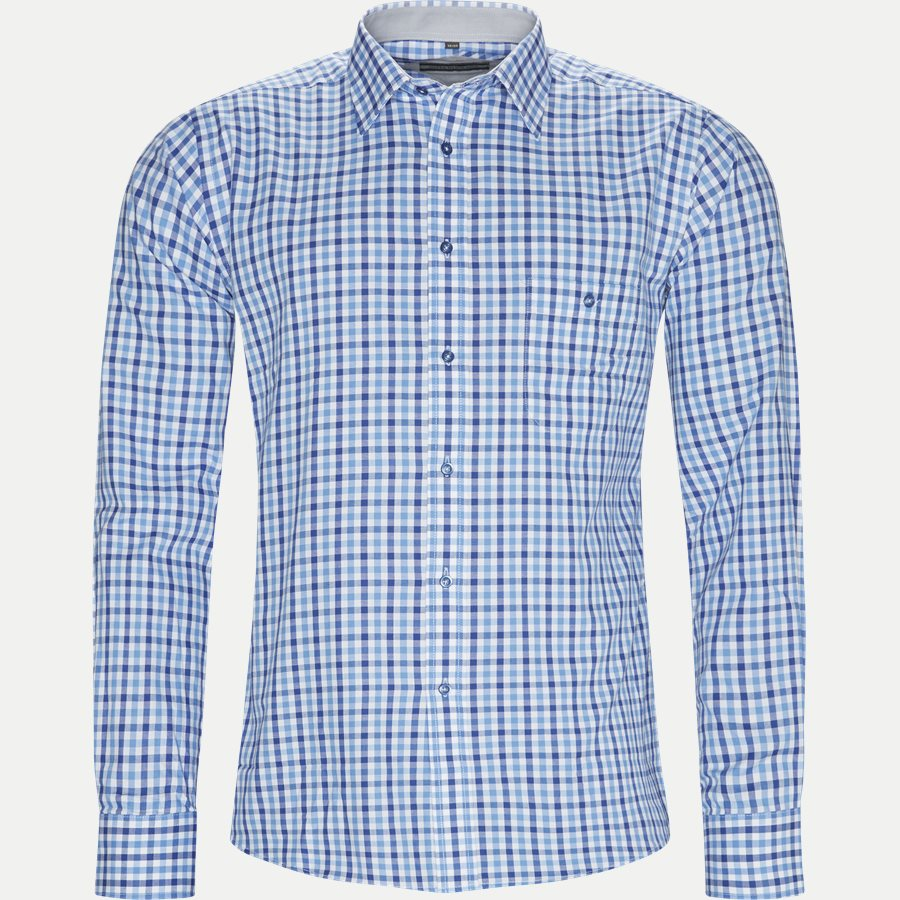 SCHULTZ - Schultz Skjorte - Skjorter - Regular - BLUE - 1