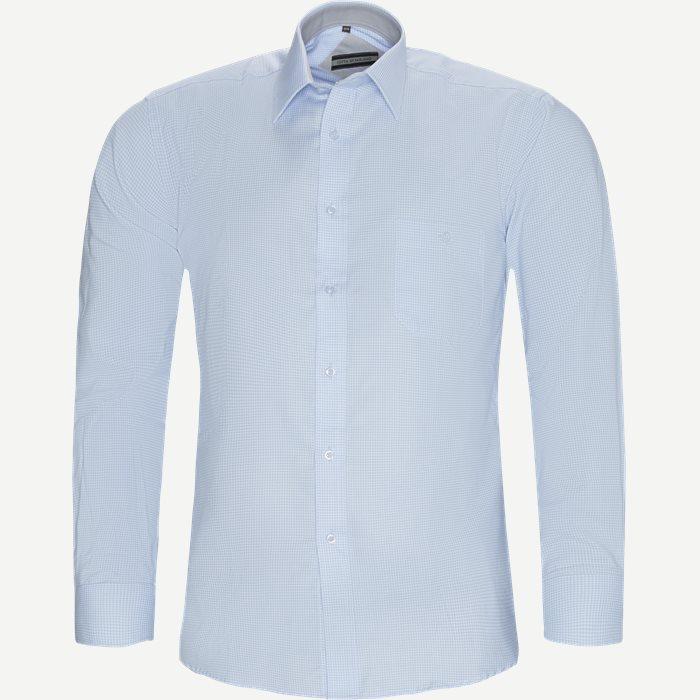 Gerhard Skjorte - Skjorter - Regular - Blå