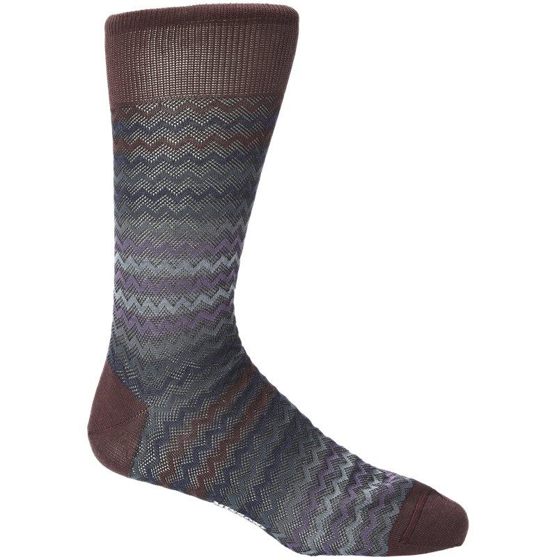 missoni Missoni sokker bordeaux fra axel.dk