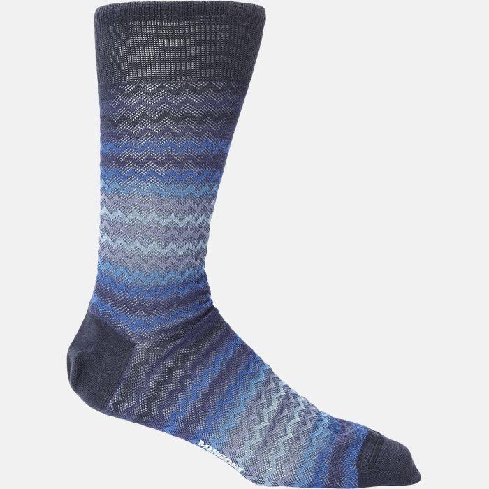 sokker - Strømper - Blå