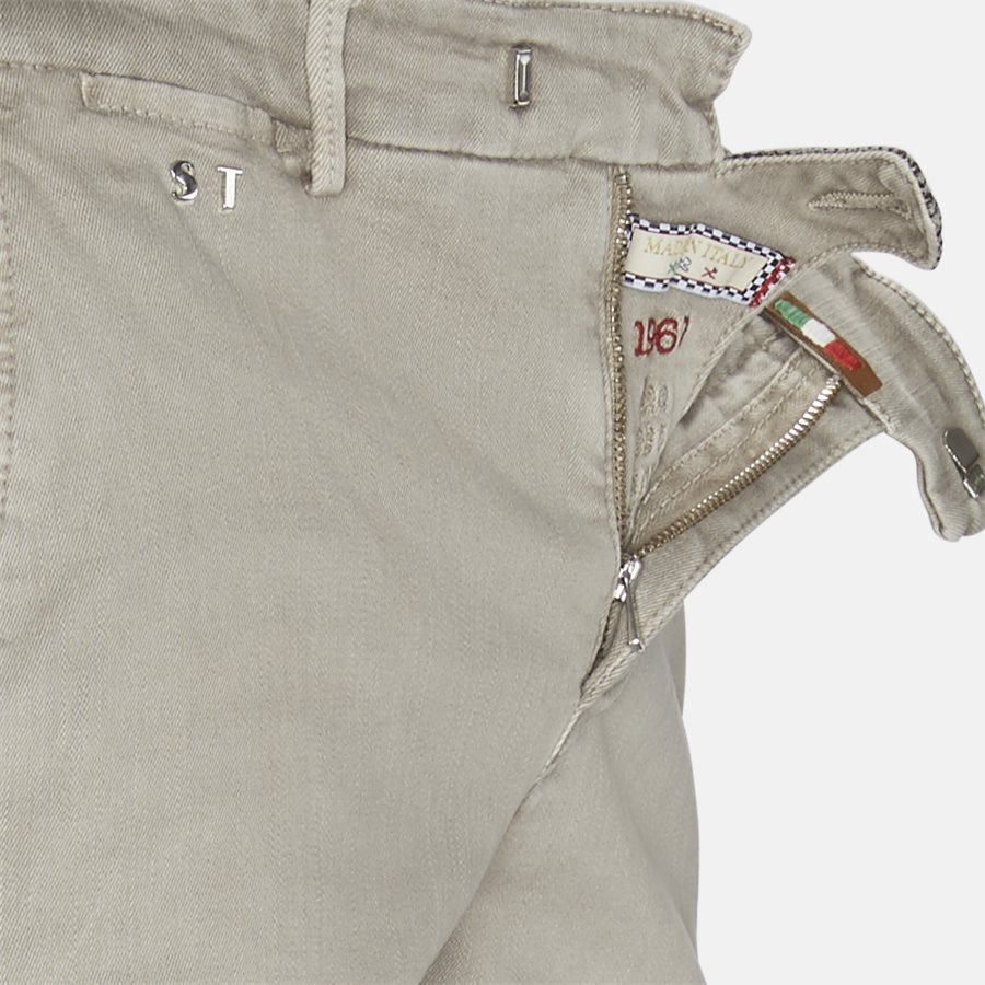 LUIS G125 - bukser - Bukser - Slim - SAND - 4