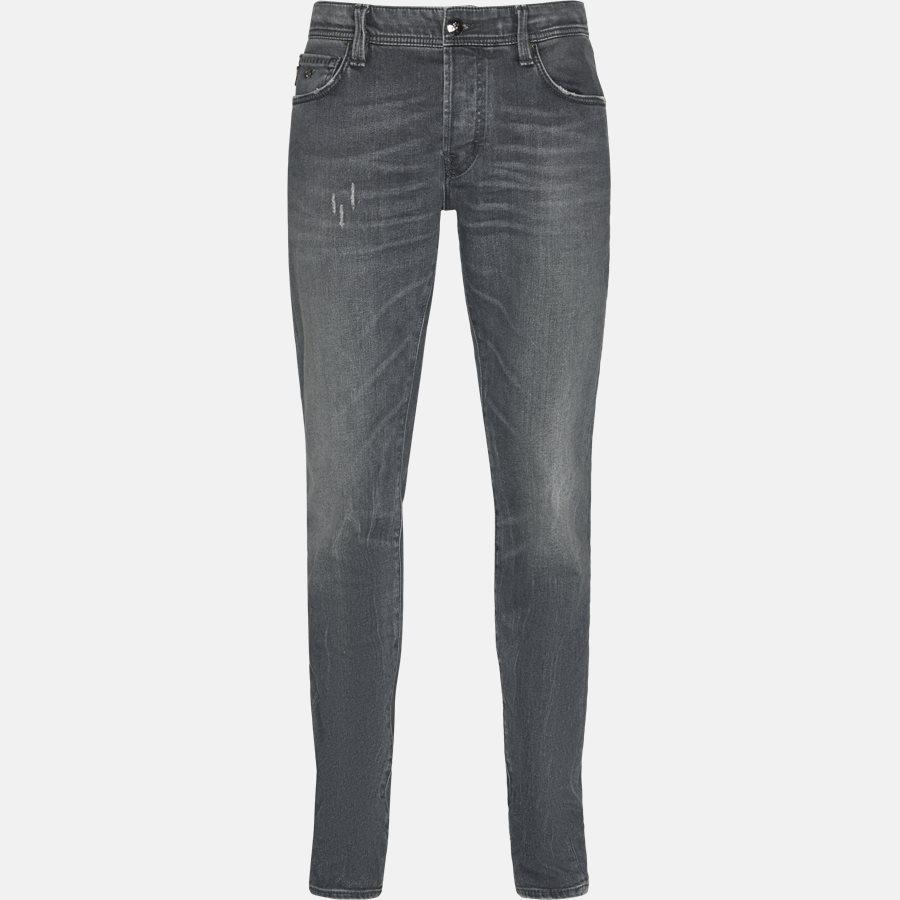 LEONARDO D313 - Jeans - Jeans - Slim - GREY - 1